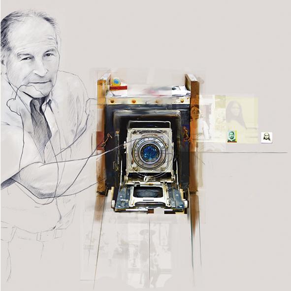 Fotoagüita. Don Gilberto Hernández y su cámara instantánea