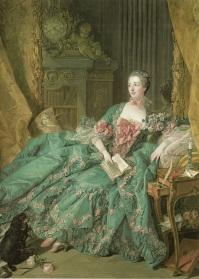 Madame Pompadour. François Boucher. (1756).