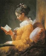 Joven leyendo. Jean.Honoré Fragonard. (1770).