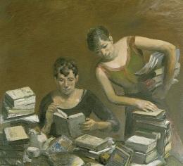 Mujeres eruditas. Harald Metzkes (2001).