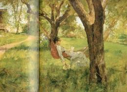 Atardecer en la Hamaca. W. L. Palmer (1882).