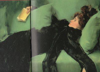 Joven decadente (Después del baile). Ramón Casas (1899).