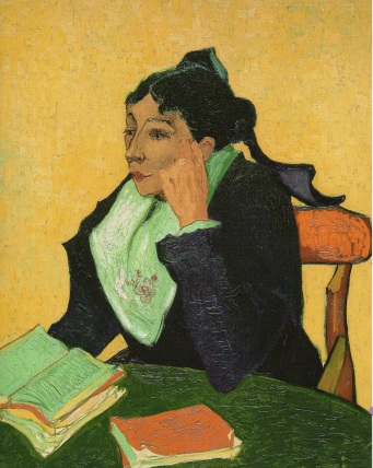 Arlesiana (madame Joseph-Michel Ginoux). Vincent van Gogh (1888).