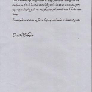 Camila Cabrera, página 3