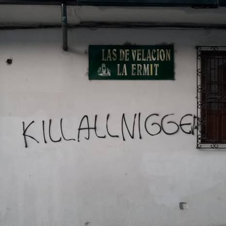 Racismo en Popayán. Foto de Camilo Renza