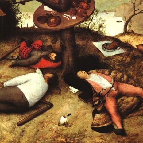 La Cucaña de Pieter Brueghel el Viejo