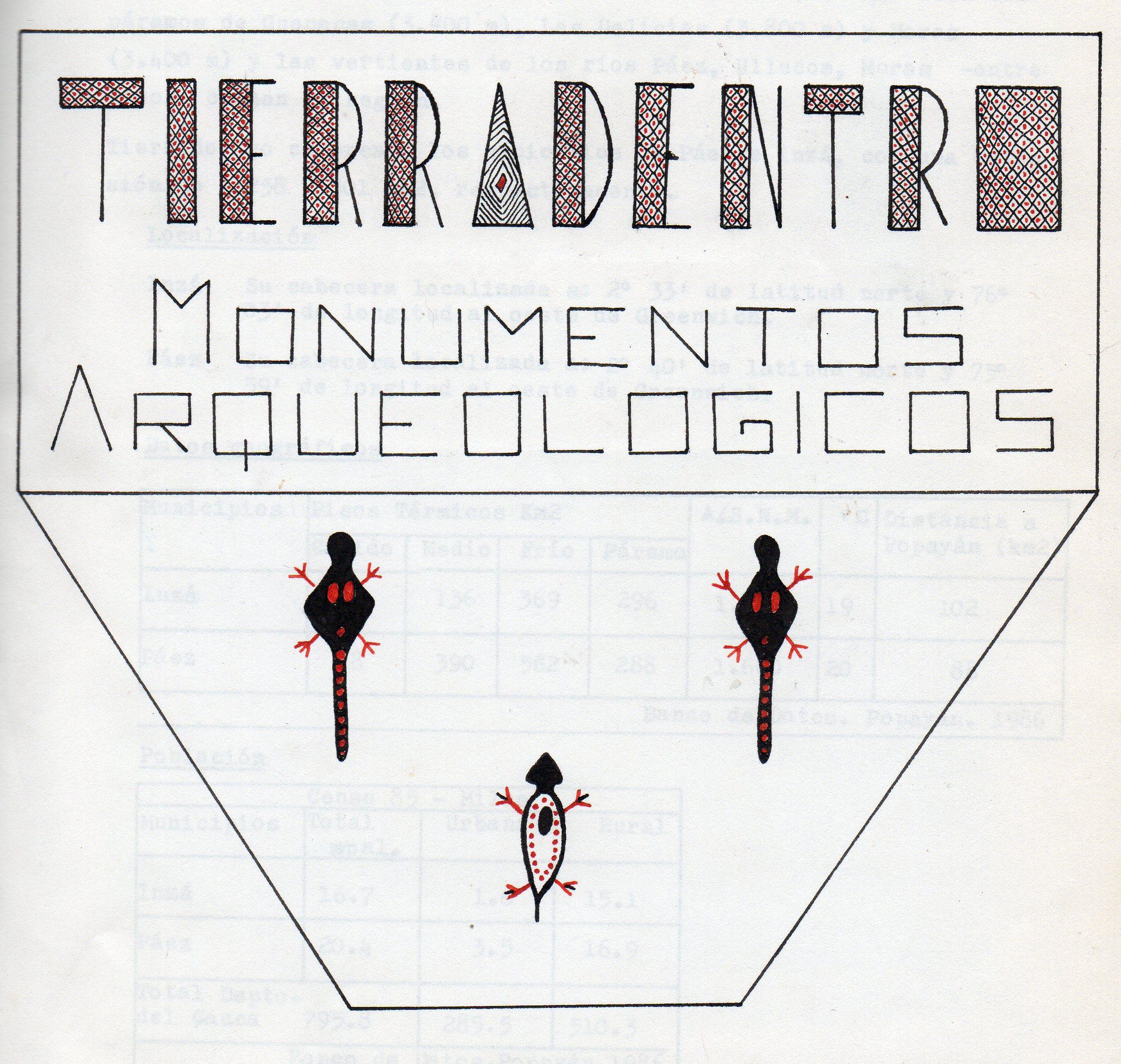 Dibujos del Parque Arqueológico de Tierradentro (Parte 1)